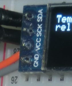 OLED-Display mit I2C-Anschluss: Pin-Beschriftung